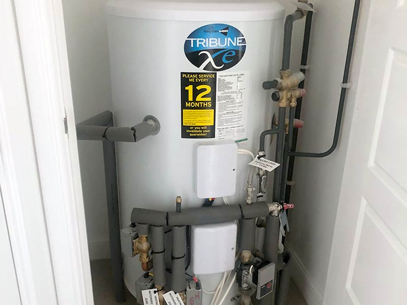 Domestic Unvented Hot Water System
